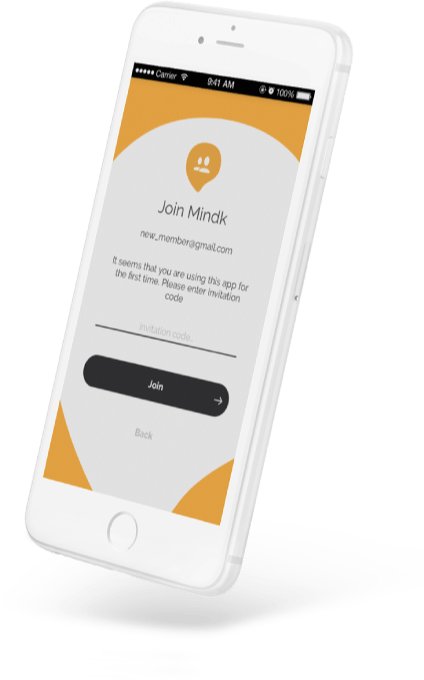 Chat with friends, create group chats